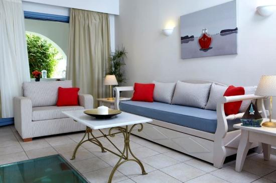 Agios Prokopios, Hellas: Deluxe Family Suite Sea View