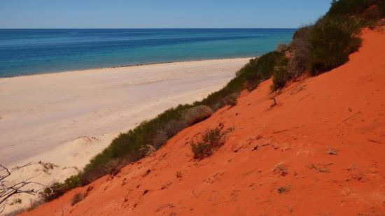 Denham, Australia: Cape Peron, where the desert meets the sea.