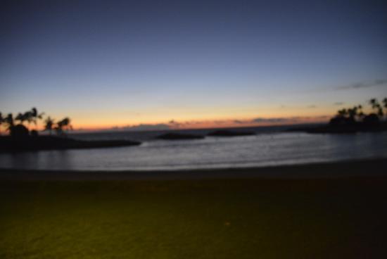 Aulani, a Disney Resort & Spa: Sunsets over lagoon