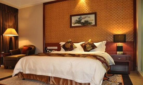 Jinggangshan, Cina: Deluxe King Room