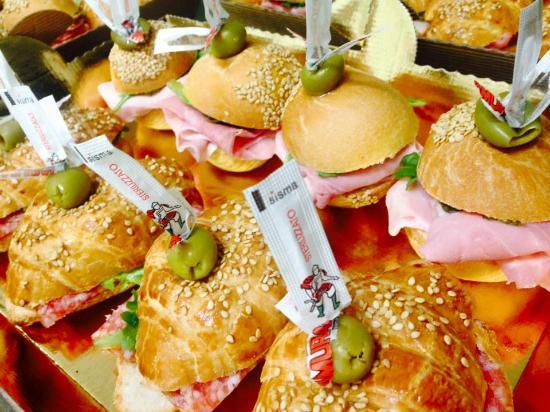 Seveso, Италия: Paninetti e Brioches Farcite Salate