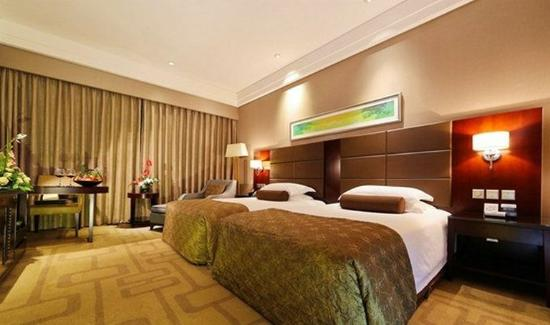 Yueqing, Cina: Deluxe Twin Room