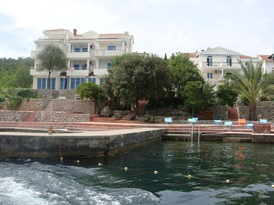Tivat, Montenegro: Vizantija_Hotel_exterior