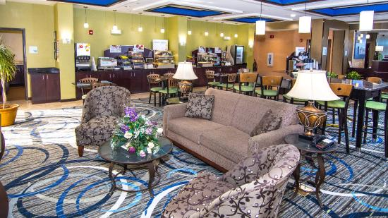 Holiday Inn Express & Suites Elkton - Newark S. - UD Area: Lobby Lounge