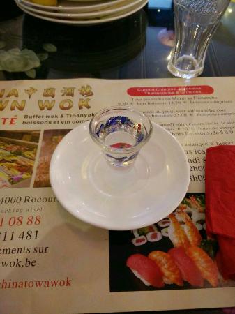 Λιέγη, Βέλγιο: Une petite partie de mon choix au buffet à volonté. Teppanyaki à essayer , la sauce piquante est