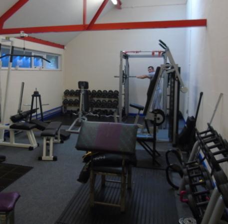Beaumaris, UK: Weights Room