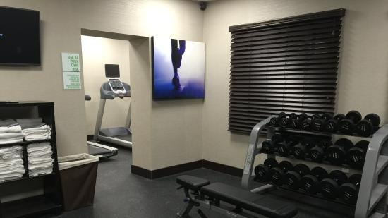 Middletown, Pensylwania: Free Weights in Fitness Center