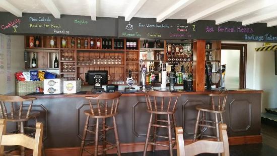 Haverfordwest, UK: The bar