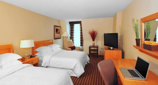 Crowne Plaza Annapolis: Double Bed Guestroom