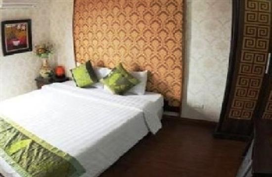 Hanoi Aurora Hotel: the room we have stayed
