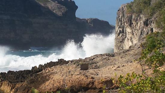 Anse-Bertrand, Gwadelupa: Au long de la balade ...
