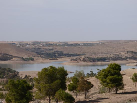 Marrakech-Tensift-El Haouz Region, Maroko: lac Lalla Takerkouste (artificiel)