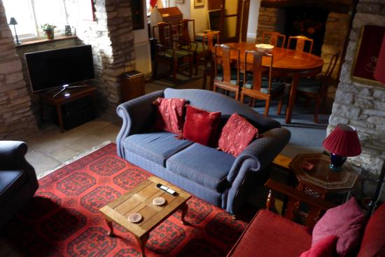 Worth Matravers, UK: Private guest lounge