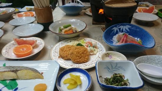 Myoko, Japan: 夕食