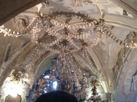 Kutna Hora, Tjekkiet: Inside of the roof