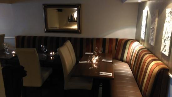 Hush Brasserie: Interior