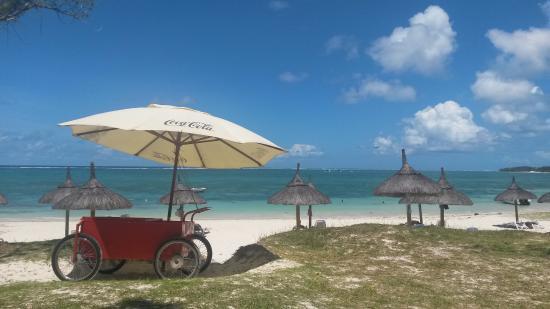 Emeraude Beach Attitude: beach service from 11.00
