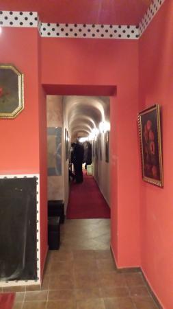 Ladek-Zdroj, Polen: Dom Klahra - korytarz