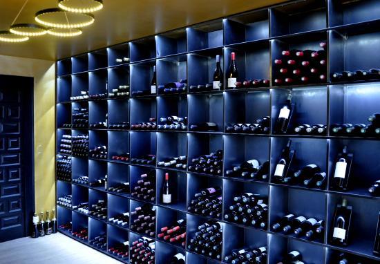Villa Duflot Restaurant : Vinothèque