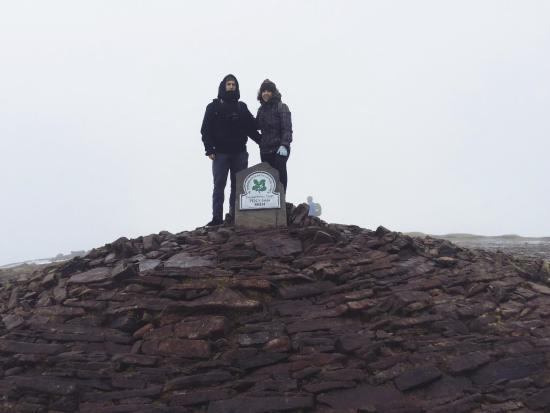 Brecon Beacons National Park, UK: At the peak!