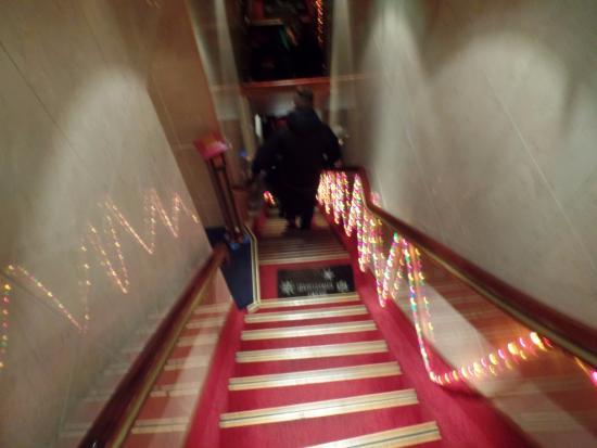 Hotel Nadia: escadas