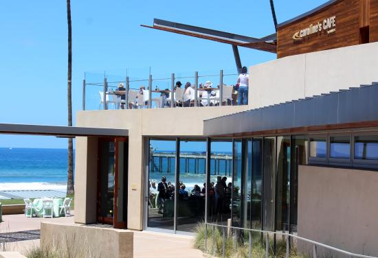 Caroline S Seaside Cafe The Restaurant And View