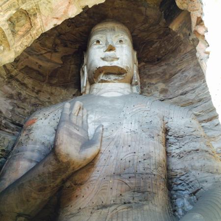 Datong, China: A miracle from the craftsmen's hands and the nature! A must see in China!