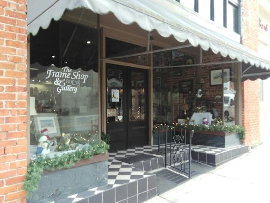 The Frame Shop & Gallery is located on Main Street in downtown Buchanan.