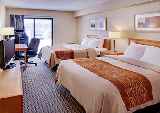 North Bay, Καναδάς: Double beds