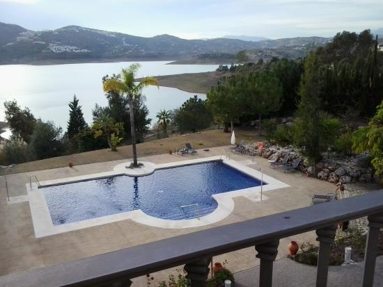 Vinuela, Spagna: view from room 218