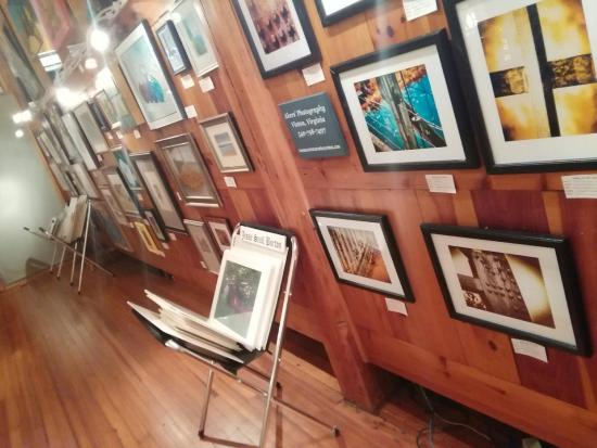 Buchanan, VA: Gallery By the James features all original art & prints from local artists.