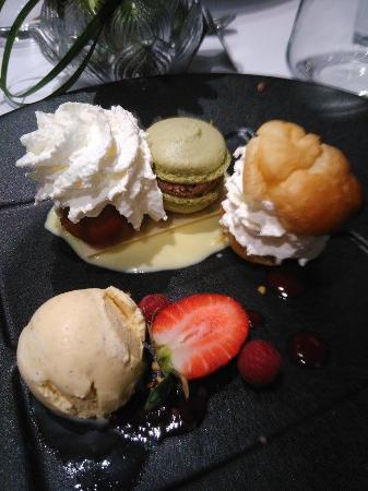 St-Avold, Frankrike: Assiette de Mignardises