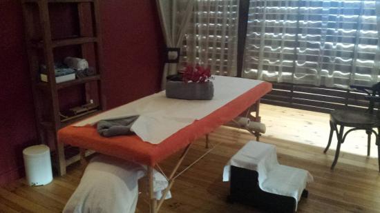 Lauzerte, Francia: espace massage