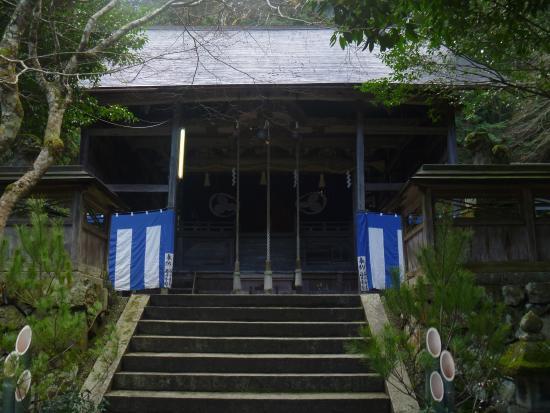 Kyotanba-cho, Japan: 境内の拝殿