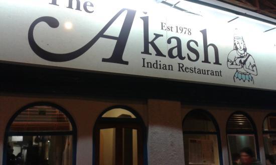The Akash: Main Entrance