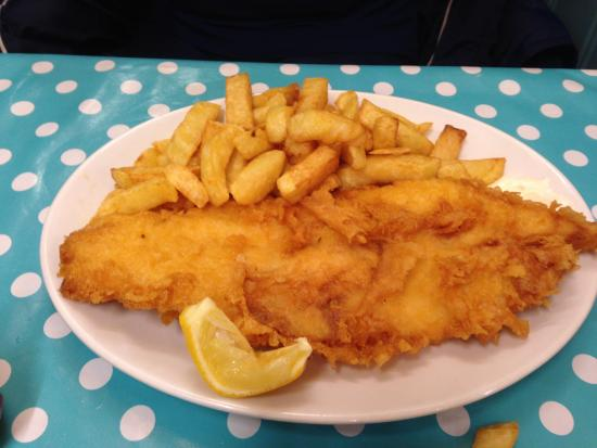 the usual plaice: Regular portion of Fish & chips