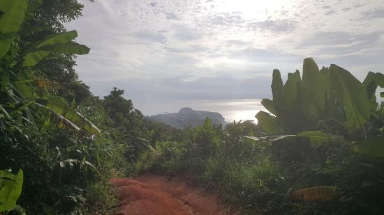ฉลอง, ไทย: View of Karon from the gravel part of the road