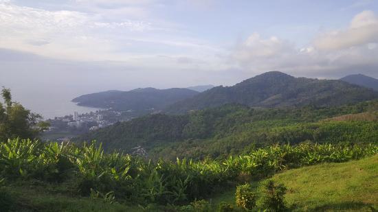 ฉลอง, ไทย: View of Karon from the Big Buddha hill