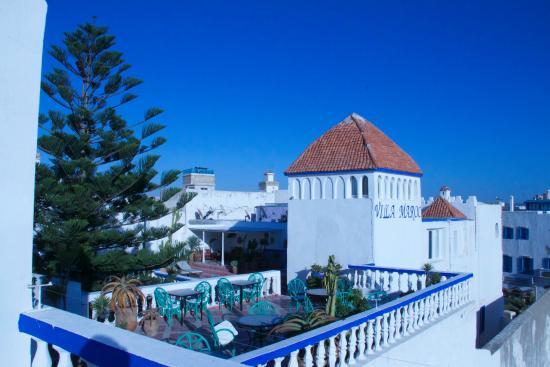 La Terrasse De La Villa Maroc Picture Of Villa Maroc Essaouira