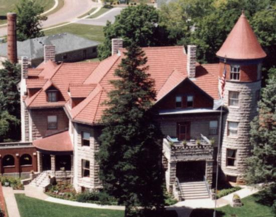 The Mansion at Elfindale Bed & Breakfast: Aerial view