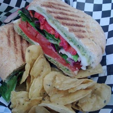 Maple Grove, MN: Tomato Mozzarella Panini