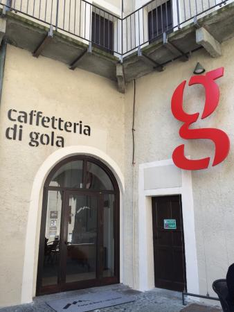 Bard, Italia: ingresso caffeteria
