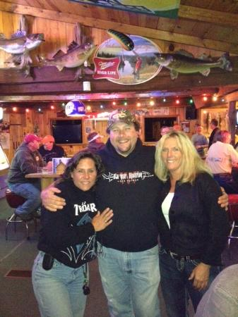 Boulder Junction, Ουισκόνσιν: Janie and I with Gooch!