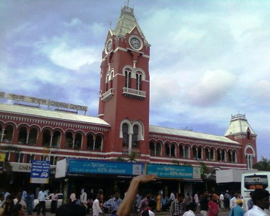‪Chennai Central Railway Station‬