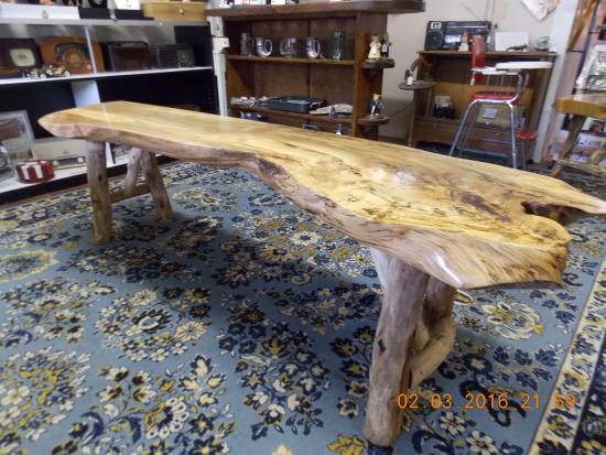 Mills River, NC: Ambrosia Maple Coffee Table Bench