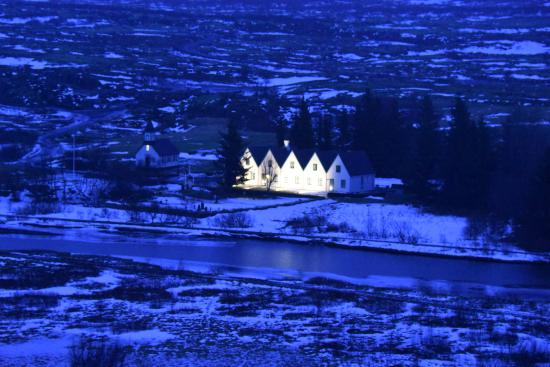 Thingvellir, Island: The area