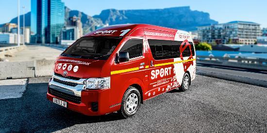 Cape Town, Sudafrica: Sport Shuttle