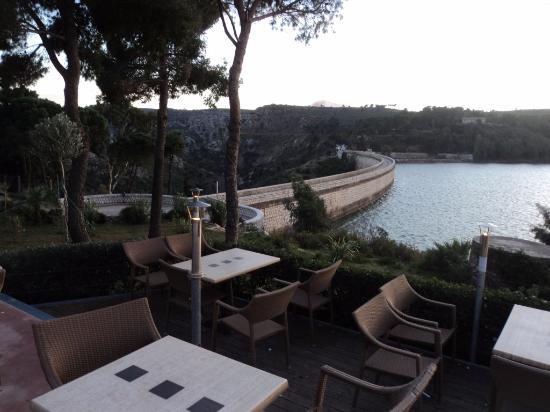 Maratón, Grecia: Λίμνη Μαραθώνα