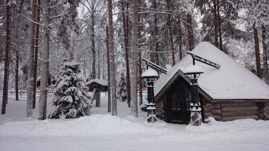 Santa Claus Office: Piharakennuksia
