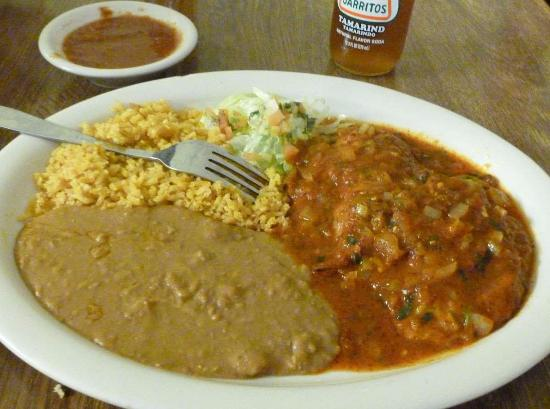 Hermiston, OR: Relleno Platter...